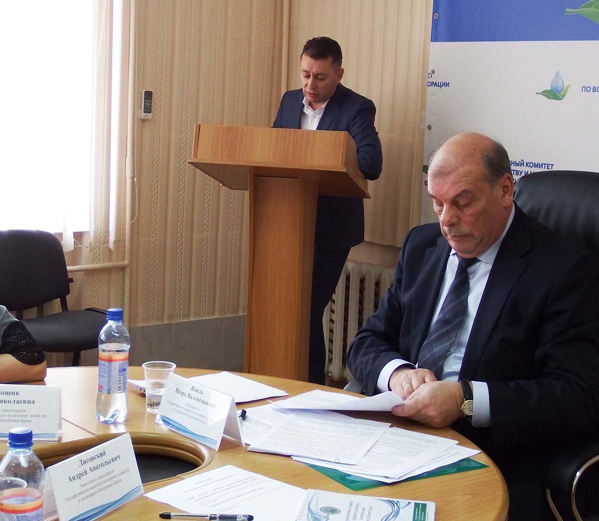 Игорь Вайль провел итоговое заседание коллегии Госкомводхоза
