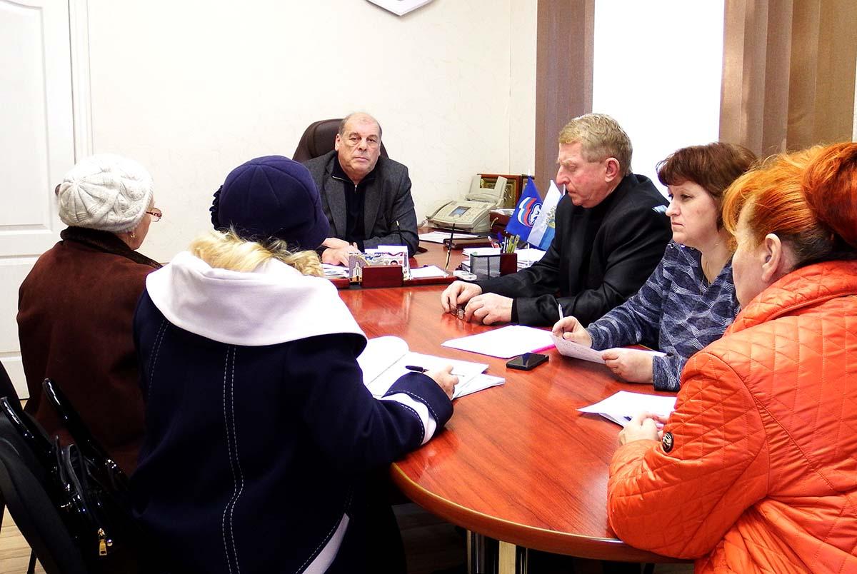 Председатель Госкомводхоза Игорь Вайль провел выездной прием граждан в Красногвардейском сельском поселении