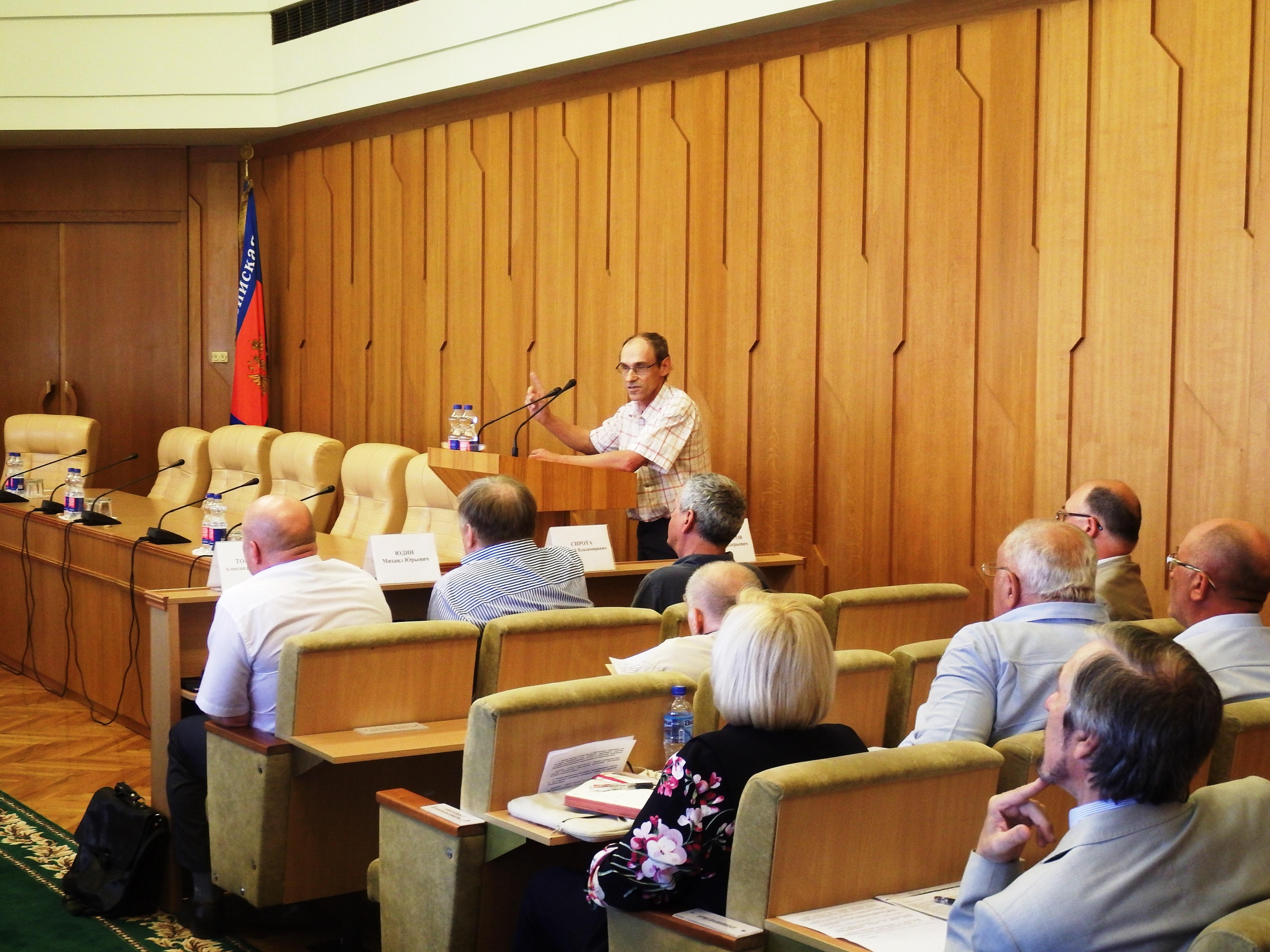 По инициативе Госкомводхоза РК состоялось заседание «круглого стола» по вопросам водообеспечения Крыма